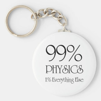 99% Physics Key Ring