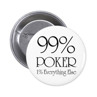 99 Poker Pinback Buttons