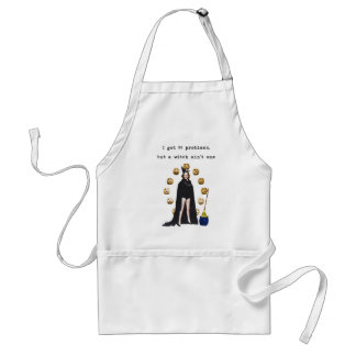 99 Problems But A Witch Ain't One Halloween Apron