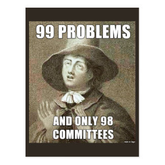 99 Problems Postcard