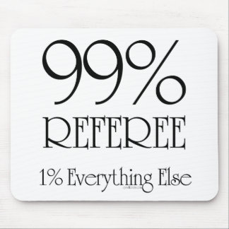 99% Referee Mouse Pad