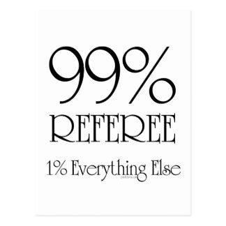 99% Referee Postcard