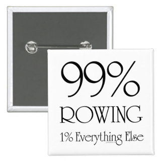 99% Rowing 15 Cm Square Badge