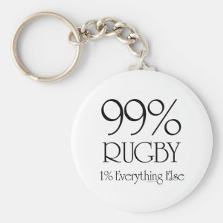 99% Rugby Key Ring
