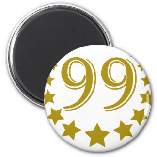 99-stars-Birthday png Fridge Magnet