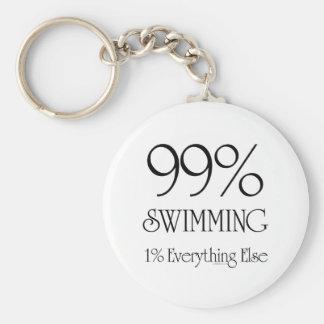 99% Swimming Key Ring