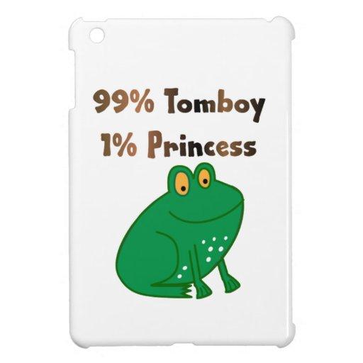 99% Tomboy 1% Princess iPad Mini Case