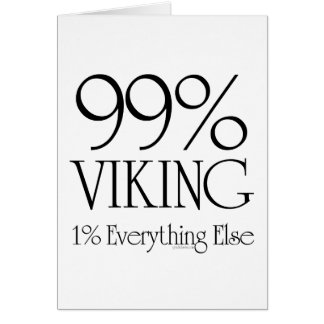 99% Viking Card