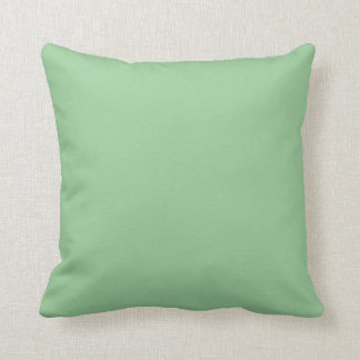 99CC99 Celadon Green Solid Color Background Cushion