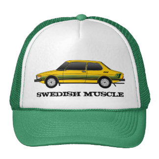 99T_sedan with stripes, SWEDISH MUSCLE Cap
