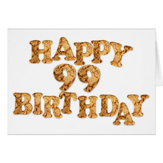 99th Birthday card for a cookie lover