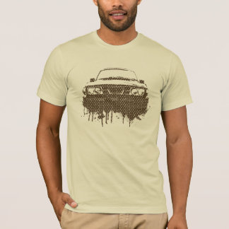 99turbo Griffin Gear parody signature print -brown T-Shirt