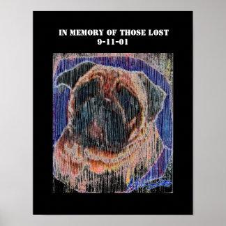 9-11-01 Dog print