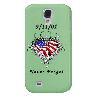 9/11/01 Patriotic Tattoo Galaxy S4 Covers