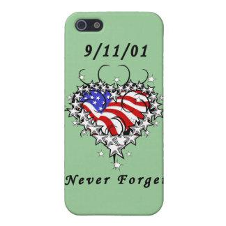 9 11 01 Patriotic Tattoo Case For iPhone 5