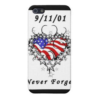 9/11/01 Patriotic Tattoo Case For iPhone 5/5S