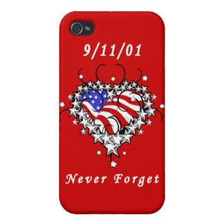 9/11/01 Patriotic Tattoo Covers For iPhone 4