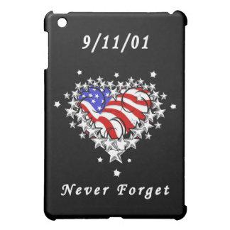 9 11 01 Patriotic Tattoo iPad Mini Covers