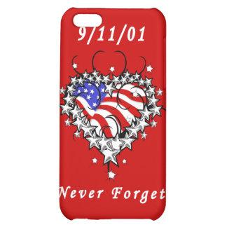 9 11 01 Patriotic Tattoo iPhone 5C Case