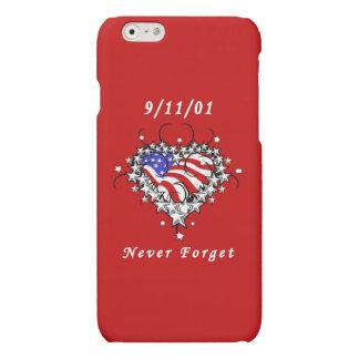 9/11/01 Patriotic Tattoo iPhone 6 Plus Case