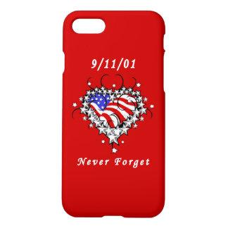 9/11/01 Patriotic Tattoo iPhone 7 Case