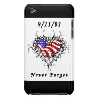 9 11 01 Patriotic Tattoo iPod Case-Mate Cases