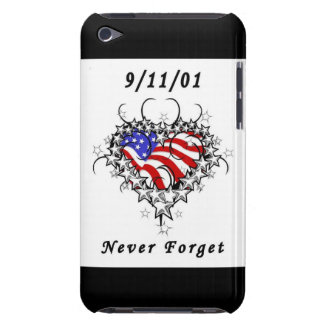 9/11/01 Patriotic Tattoo iPod Touch Covers