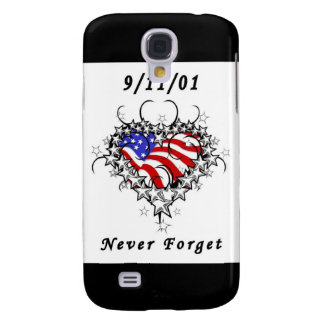 9 11 01 Patriotic Tattoo Samsung Galaxy S4 Case
