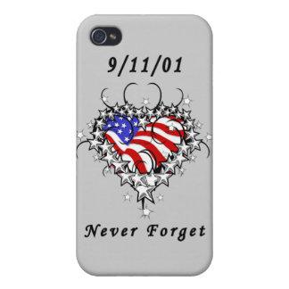 9/11/01 Patriotic Too iPhone 4/4S Case