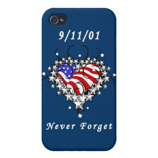 9/11/01 Patriotic Too Covers For iPhone 4