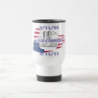 9-11 10th Anniversary Commemorative Coffee Mugs