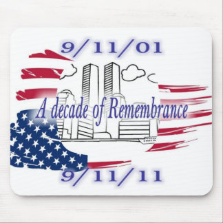 9-11 10th Anniversary Commemorative Mouse Pads