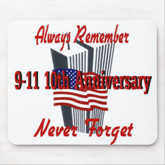 9-11 10th Anniversary Commemorative Mousepads