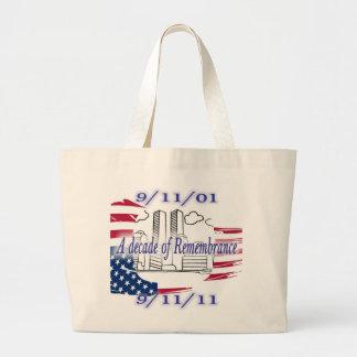 9-11 10th Anniversary Commemorative Tote Bag