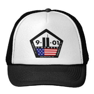 9-11 10th Anniversary Remembrance Trucker Hats