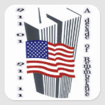 9-11 10th Anniversary Remembrance Stickers