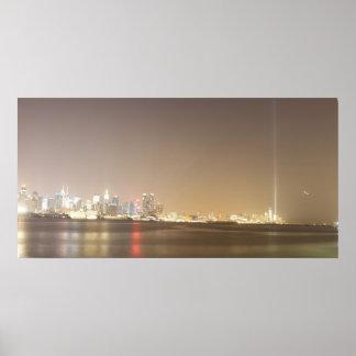 9-11-13 Tribute in Light Poster