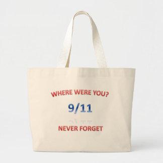 9/11/2001 TOTE BAGS