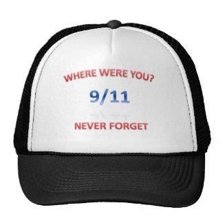 9/11/2001 HATS
