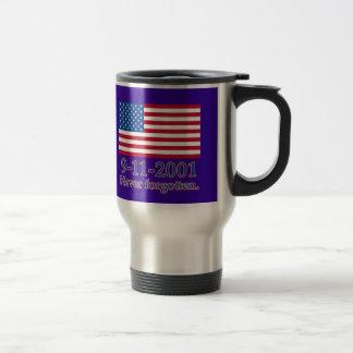 9-11-2001 Never Forgotten Tshirts, Buttons Coffee Mug