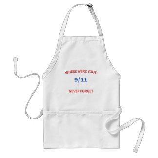 9/11/2001 STANDARD APRON