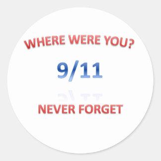 9/11/2001 STICKERS