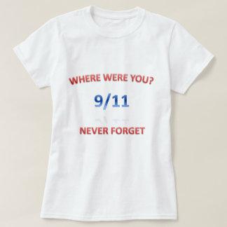 9/11/2001 T-SHIRTS