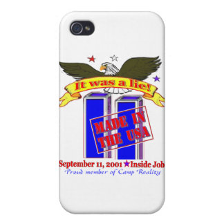 9/11 Conspiracy Iphone Case Covers For iPhone 4