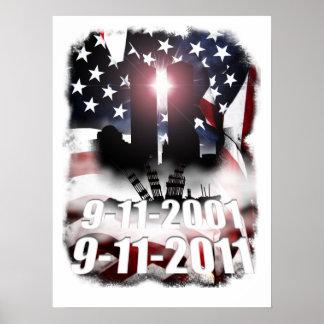 9-11 Decade Memorial Print