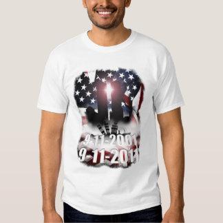 9-11 Decade Memorial Tee Shirts