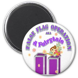 9/11 Fairytale 6 Cm Round Magnet
