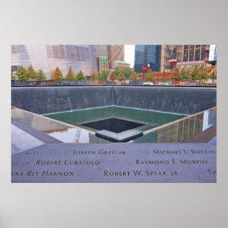 9-11 Ground Zero Memorial Posters