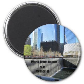 9-11 Memorial 6 Cm Round Magnet