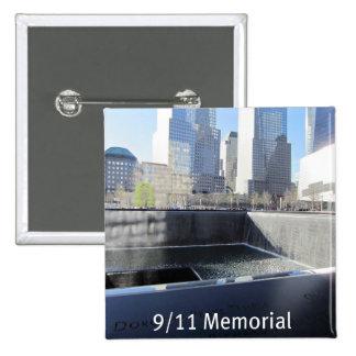 9 11 Memorial Pinback Buttons
